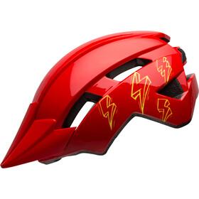 Bell Sidetrack II Helm Kinder red bolts
